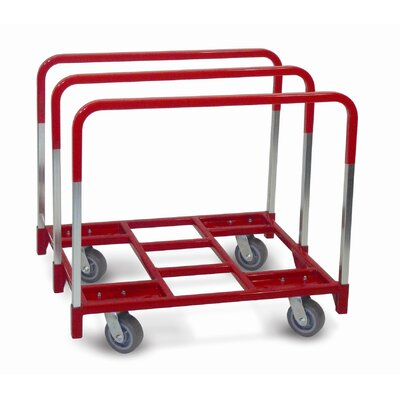 "Raymond Products Panel Mover 5"" Quiet Poly Casters, All Swivel, 3 Standard Uprights"