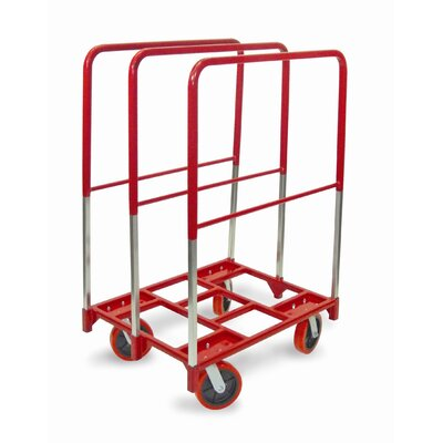 "Raymond Products Panel Mover 8"" Quiet Poly Casters, All Swivel, 3 Extra Tall Uprights"