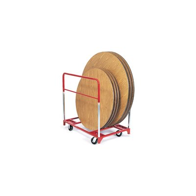 "Raymond Products Round Folding Table Mover with All Swivel 6"" Phenolic Casters"