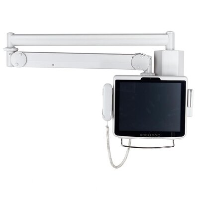 Cotytech Long Reach LCD Monitor Arm with Monitor Back Cable Cover