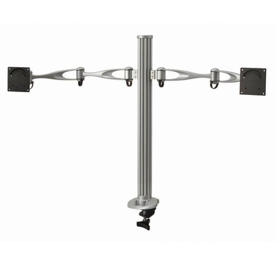 Cotytech Dual Monitor Desktop Mount Dual Swing Arm
