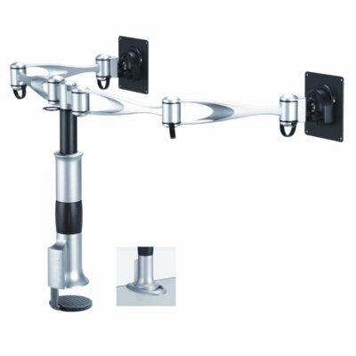 Cotytech Dual Monitor Desk Mount - Dual Swing Arm