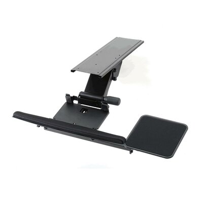Cotytech Fully Adjustable Ergonomic Keyboard Mouse Tray-Spring