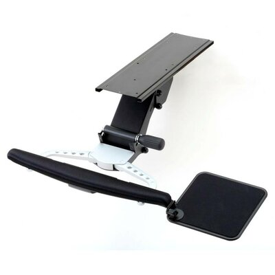 Cotytech Fully Adjustable Keyboard Mouse Tray and Wrist Rest