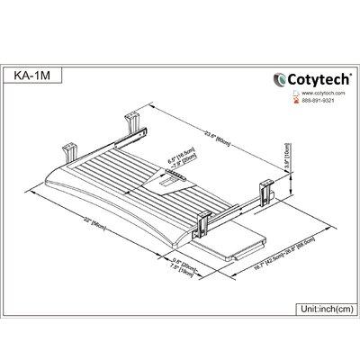 Cotytech Keyboard Tray Regular