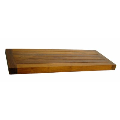 Aqua Teak Spa Teak Wall Shelf