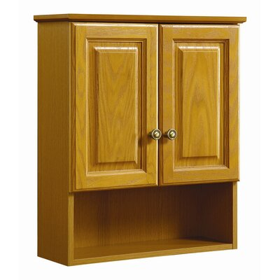 "Design House Claremont 21"" x 26"" Double Door Bathroom Wall Cabinet"