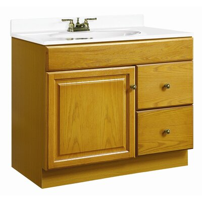 "Design House Claremont 37"" Single Door Vanity Set"