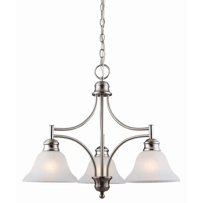 Design House Bristol 3 Light Chandelier