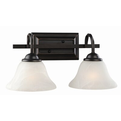 Design House Drake 2 Light Vanity Light