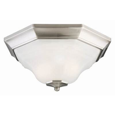 Design House Barcelona 2 Light Flush Mount
