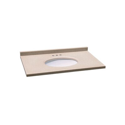 "Design House 25"" Single Bowl Vanity Top"