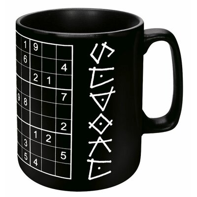 Konitz Chalk Talk Sudoku Mug (Set of 4)