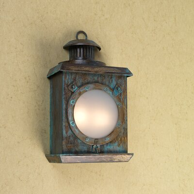 Lustrarte Lighting Nautic Hatch 2 Light Wall Sconce
