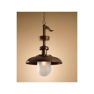 Lustrarte Lighting Nautic Pirates 1 Light Foyer Pendant