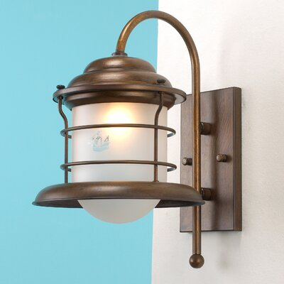 Lustrarte Lighting Caravela 1 Light Outdoor Wall Lantern