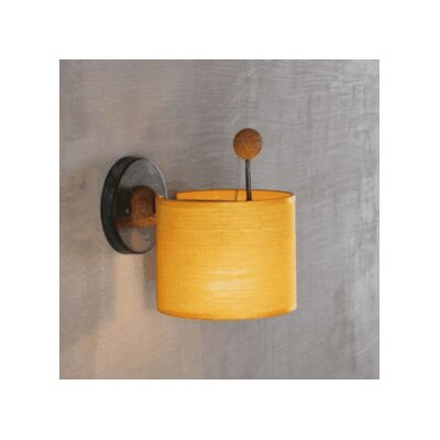 Lustrarte Lighting Contemporary Cork 1 Light Wall Sconce