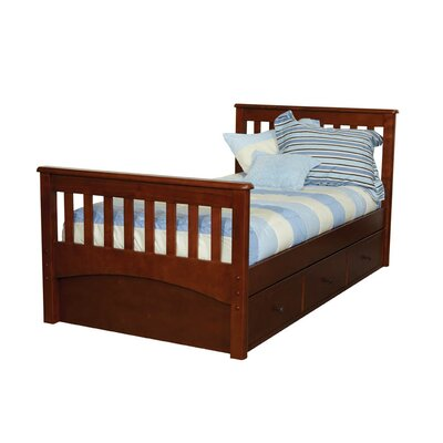 Mission Twin Slat Bed With 3 Drawer Under Bed Case Wayfair
