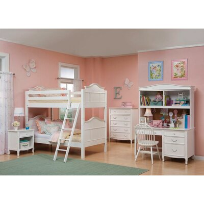Bolton Furniture Lyndon Twin over Twin Bunk Bed with Storage