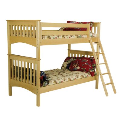 Bolton Furniture Mission Twin over Twin Bunk Bed