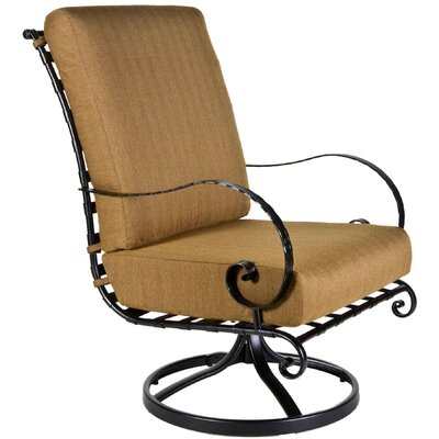 OW Lee Classico Hi-Back Swivel Rocker Club Chair with Cushion