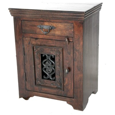 Mirage Jali 1 Drawer Nightstand