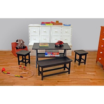 KidzPad Drew Playtime 4 Piece Kids' Table Set