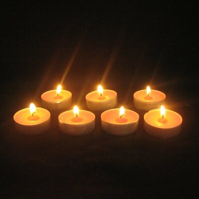 Peach Tealight Candles (Set of 25)