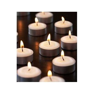 Light In the Dark Unscented Tealight Candles (Set of 120)