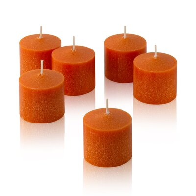 Light In the Dark Orange Mandarin Scented Votive Candles (Set of 36)