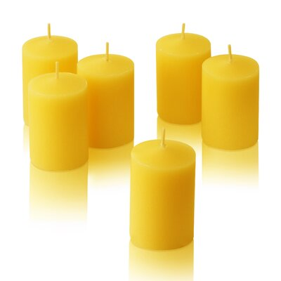 Light In the Dark Citronella Yellow Votive Candles (Set of 144)
