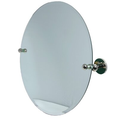 "Allied Brass Waverly Place Astor Place 22"" Round Tilt Mirror"
