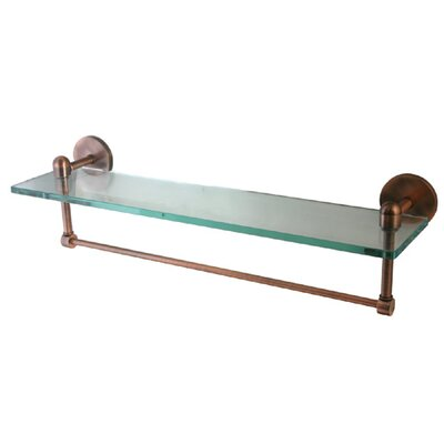 Allied Brass Tango Bathroom Shelf With Towel Bar Reviews Wayfair