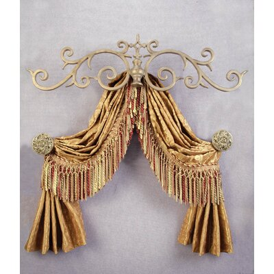 Menagerie Casa Artistica Top Treatment Large Royal Curtain Bracket