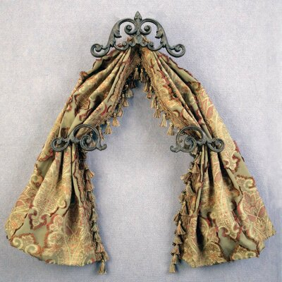 Menagerie Casa Artistica Scroll Curtain Valance