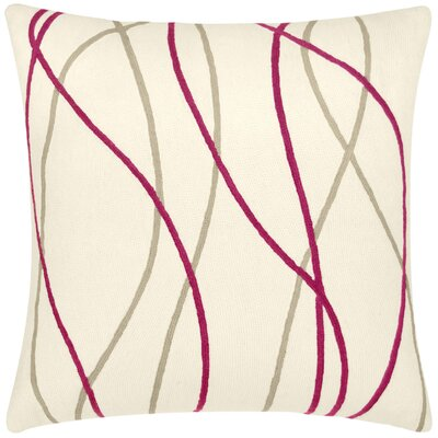 Judy Ross Streamers Wool Pillow