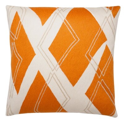 Judy Ross Textiles Argyle Wool Pillow