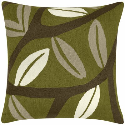 Judy Ross Textiles Branches Wool Pillow