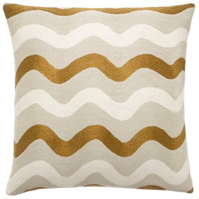 Judy Ross RicRak Wool Pillow