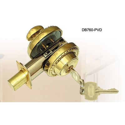 "Double Hill USA 2.38"" Rope Deadbolt"