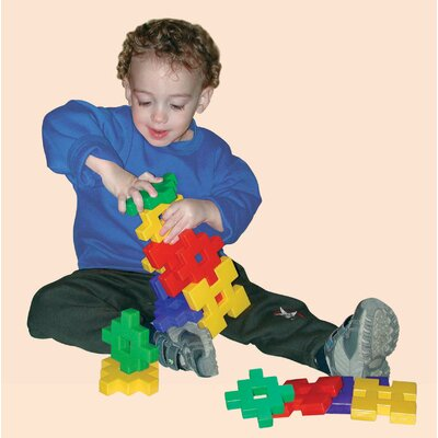 edushape Cross Blocks Building Set