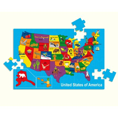 edushape USA Map Puzzle