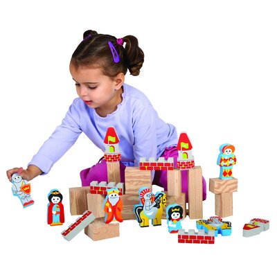 edushape My Soft World Castle Block Set