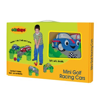 edushape Racing Cars Mini Golf Set