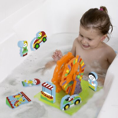 edushape Amusement Park Floating 3D Bath Toy