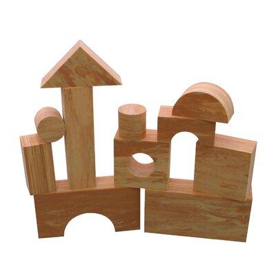 edushape Wood-Like Soft Toy Blocks