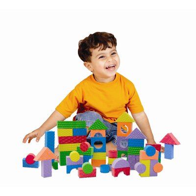 edushape Textured Blocks (Set of 30)