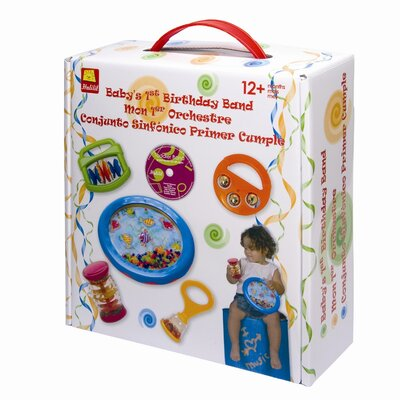edushape Baby's 1st Birthday Toy Instrument Set