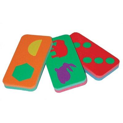 edushape Jumbo Domino Game Set