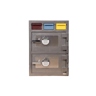 Hollon Safe Triple Drop Commercial Depository Safe